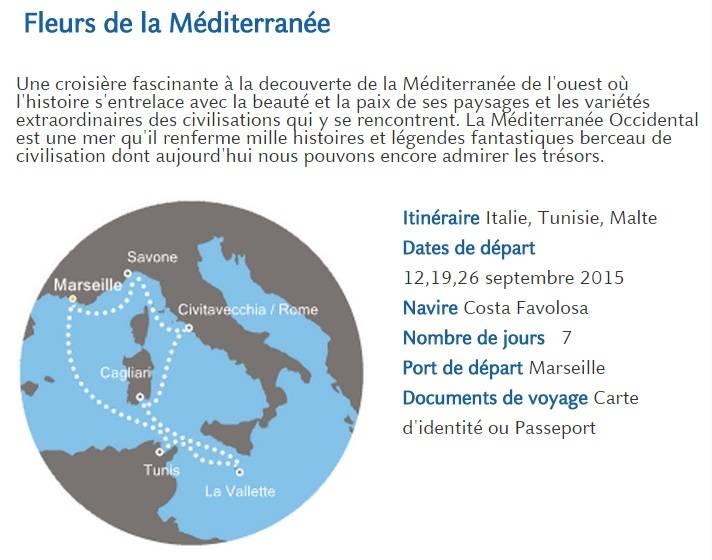 Croisi re costa costa favolosa agence de voyage var 83 - Comment aller du port de civitavecchia a rome ...